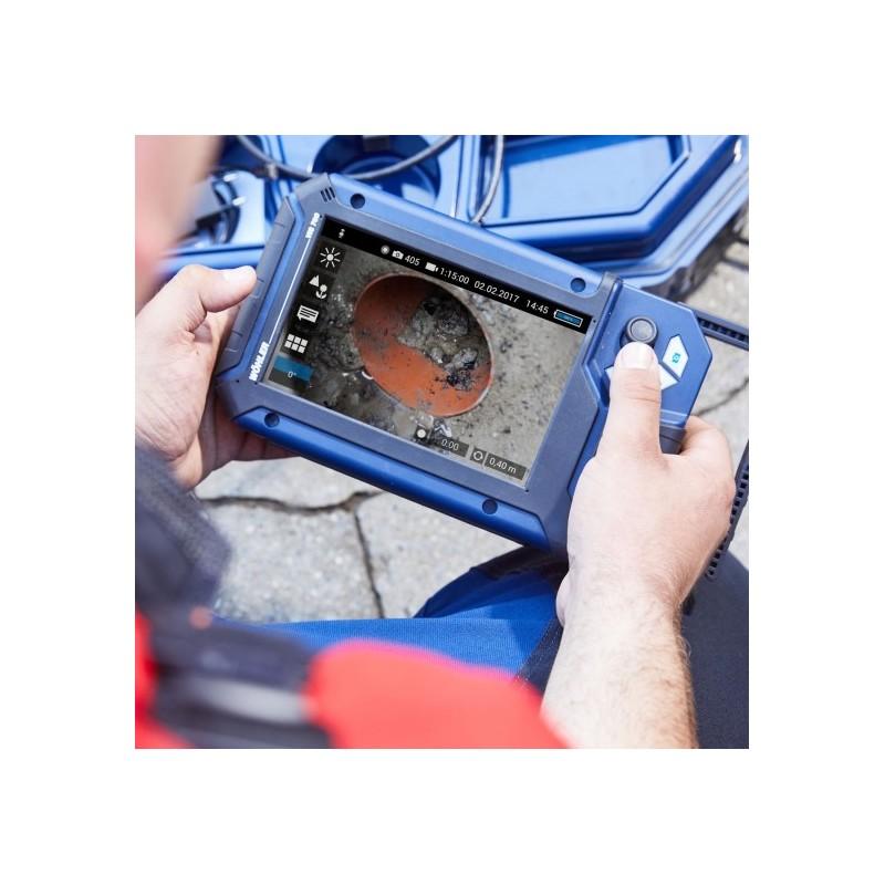 Caméra d'inspection Wöhler VIS700 caméra Ø 26 mm - Longueur 30 m