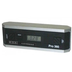 Clinomètre électronique - PRO360° resolution 0.1°