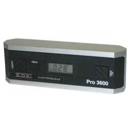 Clinomètre électronique - PRO3600° resolution 0.01°