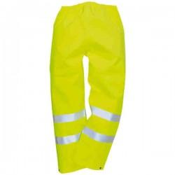 Pantalon JAUNE Bandes réfléchissantes Hi-Viz T L
