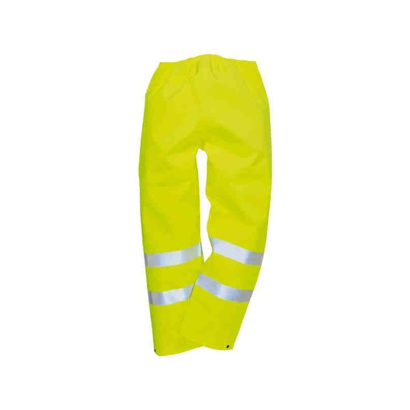 Pantalon JAUNE Bandes réfléchissantes Hi-Viz T XL