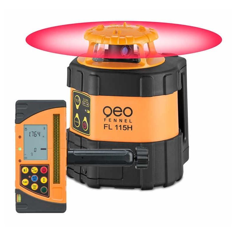 Laser Automatique FL115H Li-Ion avec détecteur FR-DIST 30
