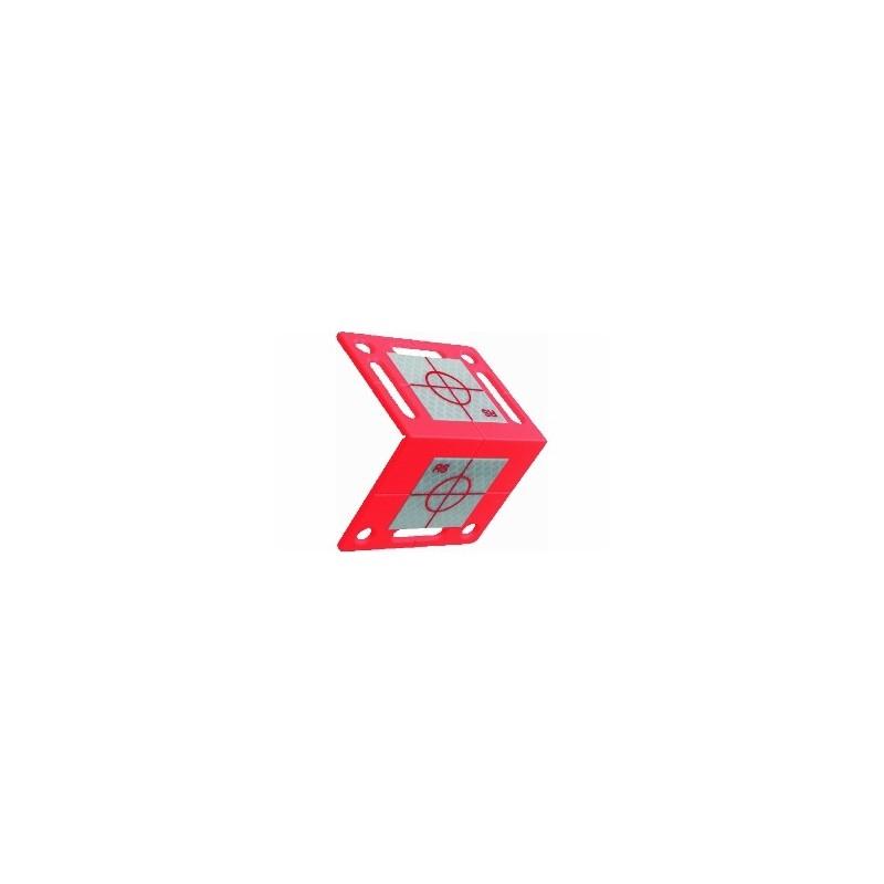 Plaquettes de mesure angulaires RS80 RED + cible 40x40mm